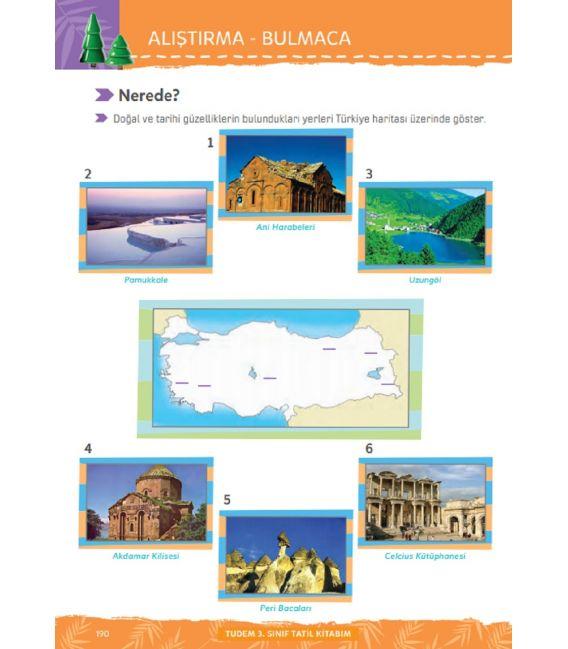 Tudem 3. Sınıf Tatil Kitabım 4.Sınıfa Geçenlere