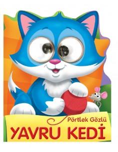 Pörtlek Gözlü Yavru Kedi Beta Kids