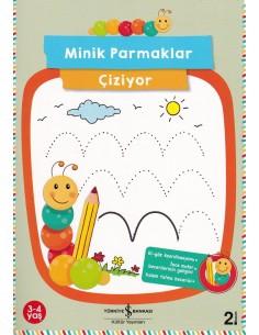 Minik Parmaklar Çiziyor İş Bankası Kültür Yayınları