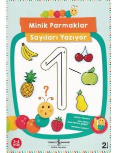 Minik Parmaklar Sayıları Yazıyor İş Bankası Kültür Yayınları