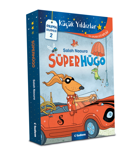Tudem Süperhügo Serisi Set 5 Kitap