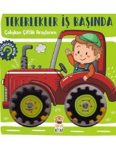 Tekerlekler İş Başında Çalışkan Çiftlik Araçlarım
