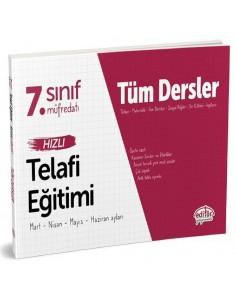 Editör Yayınevi 7 Sınıf Tüm Dersler Hızlı Telafi Eğitimi