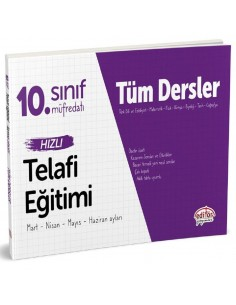 Editör Yayınevi 10. Sınıf Tüm Dersler Hızlı Telafi Eğitimi