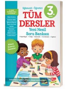 Dikkat Atölyesi 3. Sınıf Tüm Dersler Yeni Nesil Soru Bankası