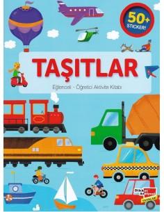 Taşıtlar Eğlenceli Öğretici Aktivite Kitabı Dikkat Atölyesi