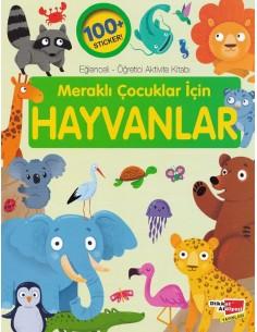 Meraklı Çocuklar İçin Hayvanlar Dikkat Atölyesi Yayınları