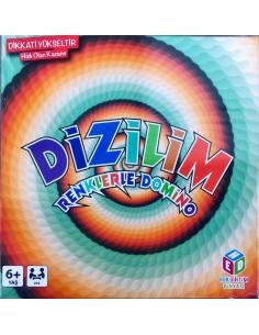 Dizilim Renklerle Domino Hobi Eğitim Dünyası