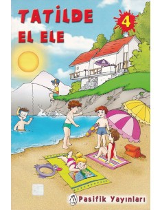 Pasifik Yayınları Tatilde El Ele 4. Sınıf Tatil Kitabı