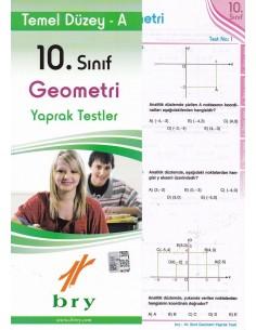 Birey 10.Sınıf Geometri Yaprak Testler Temel Düzey A