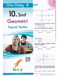 Birey 10.Sınıf Geometri Yaprak Testler Temel Düzey B