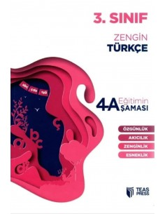 Teas Press Eğitimin 4 Aşaması 3. Sınıf Zengin Türkçe