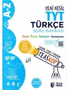 Teas Press Teaskop Yeni Nesil TYT Türkçe Soru Bankası