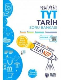 Teas Press Teaskop Yeni Nesil TYT Tarih Soru Bankası