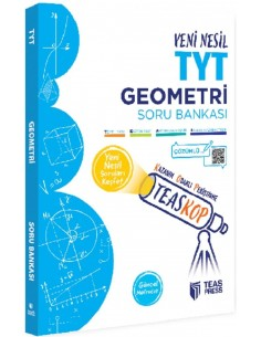 Teas Press Teaskop Yeni Nesil TYT Geometri Soru Bankası