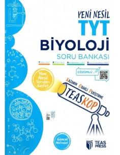 Teas Press Teaskop Yeni Nesil TYT Biyoloji Soru Bankası