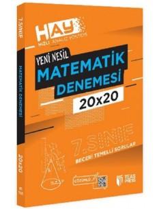 Teas Hay 7. Sınıf Matematik Branş Deneme