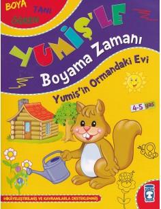 Yumişle Boyama Zamanı 3 Kitap Timaş Yayınları