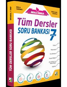Damla Yayınları 7.Sınıf Tüm Dersler  Soru Bankası