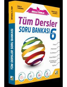 Damla Yayınları 6.Sınıf Tüm Dersler  Soru Bankası