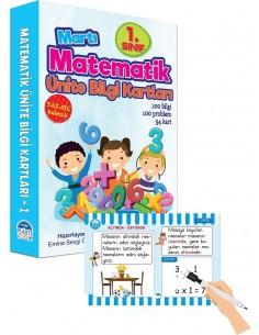 Matematik Ünite Bilgi Kartları 1.Sınıf Martı Yayınları