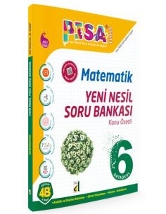 Damla Yayınları 6.Sınıf Matematik Konu Özetli Soru Bankası