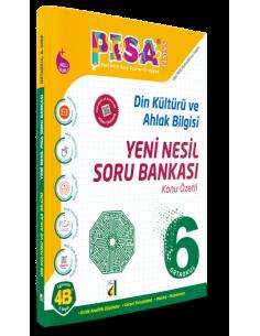 Damla Yayınları 6.Sınıf Din Kültürü ve Ahlak Bilgisi Konu Özetli Soru Bankası