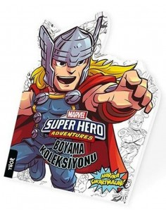 Marvel Süper Kahramanlar Boyama Koleksiyonu Thor