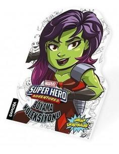 Marvel Süper Kahramanlar Boyama Koleksiyonu Gamora