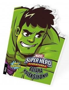 Marvel Süper Kahramanlar Boyama Koleksiyonu Hulk