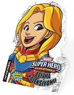 Marvel Süper Kahramanlar Boyama Koleksiyonu Captan Marvel