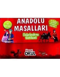 Anadolu Masalları 10 Kitap Hayat Okul Yayınları