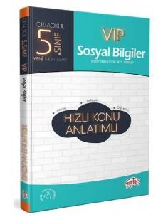Editör Yayınları 5.Sınıf VIP Sosyal Bilgiler Konu Anlatımlı