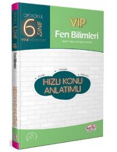 Editör Yayınları 6.Sınıf VIP Fen Bilimleri Konu Anlatım