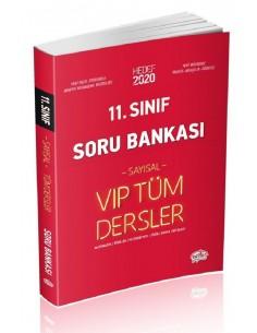 Editör 11. Sınıf VIP Tüm Dersler (Sayısal) Soru Bankası Kırmızı Kitap