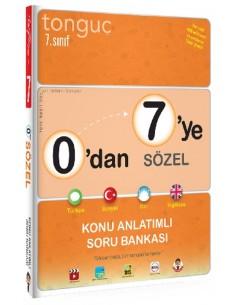 Tonguç 0'dan 7'ye Sözel Konu Anlatımlı Soru Bankası