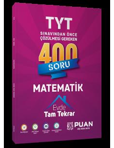 Puan Yayınları TYT Matematik Evde Tam Tekrar Çözümlü 400 Soru