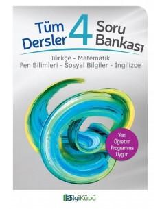 Bilgiküpü 4. Sınıf Tüm Dersler Soru Bankası