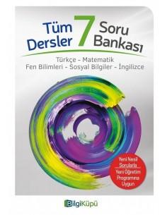 Bilgiküpü 7. Sınıf Tüm Dersler Soru Bankası