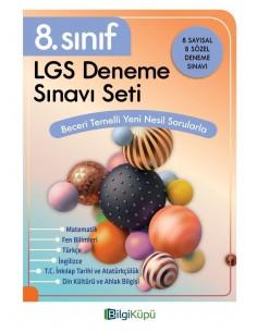 Bilgiküpü  8. Sınıf LGS Deneme Sınav Seti