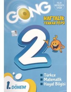 Eğiten Kitap Gong 2. Sınıf Haftalık Tekrar Föyü