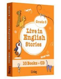 Live in English Stories Grade 5 Living Yayınları