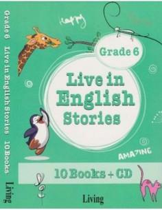 Live in English Stories Grade 6 Living Yayınları