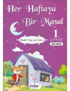 Her Haftaya Bir Masal Çek Kopar 1. Sınıf Pinokyo Yayınları