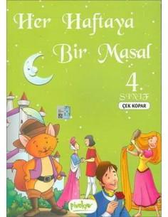 Her Haftaya Bir Masal Çek Kopar 4. Sınıf Pinokyo Yayınları