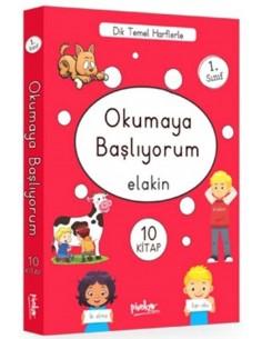 Okumaya Başlıyorum (Elakin) Pinokyo Yayınları