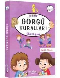 Görgü Kuralları Serisi Pinokyo Yayınları