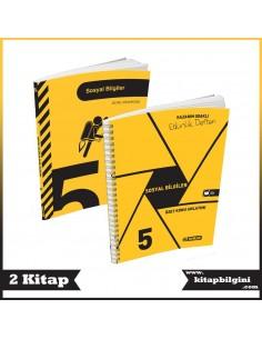 Hız Yayınları 5. Sınıf Sosyal Bilgiler Kampanyalı Set (2 Kitap)