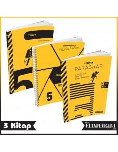 Hız Yayınları 5. Sınıf Türkçe Kampanyalı Set (3 Kitap)
