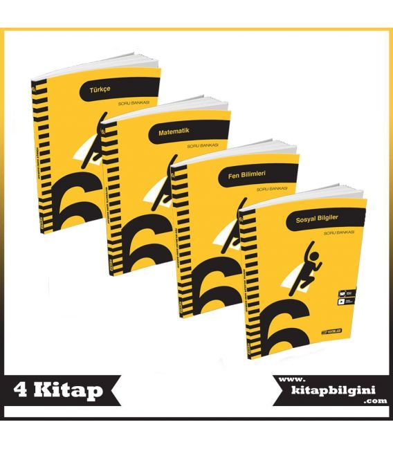 Hız Yayınları 6. Sınıf Soru Bankası Kampanyalı Set (4 Kitap)